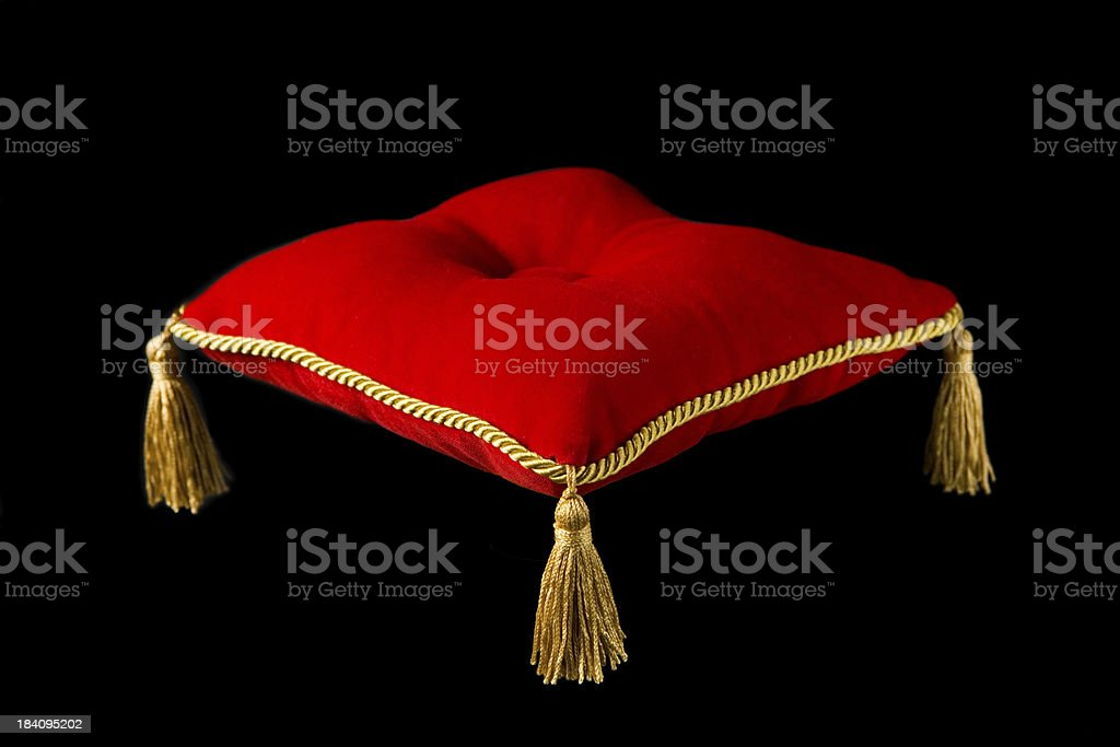The Royal Pillow stock photo