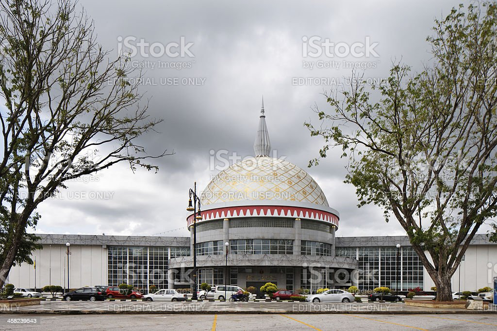 The Royal Regalia Museum in Bandar Seri Begawan, Brunei stock photo