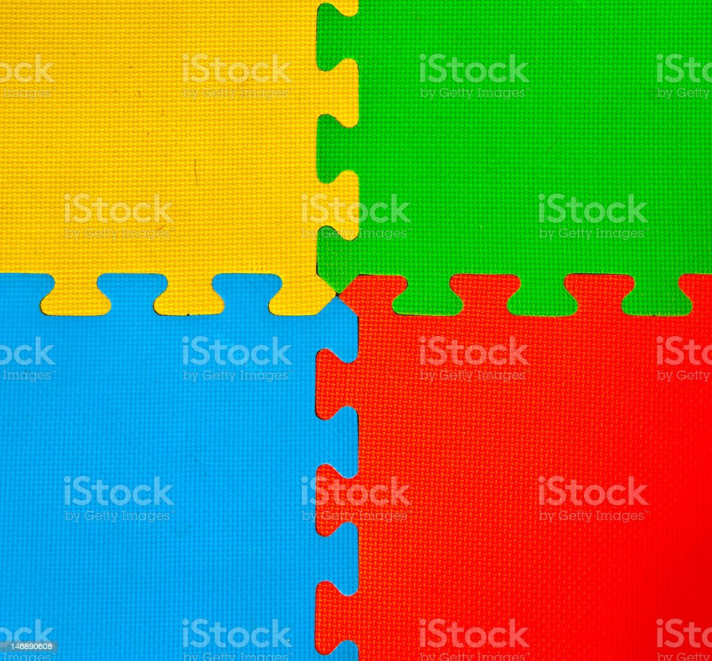The Rubber  floor  texture royalty-free stock photo