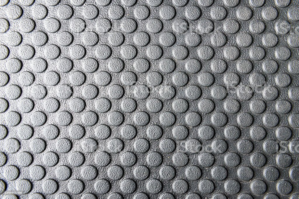 The rubber mats,the rubber mats with the round pattern stock photo
