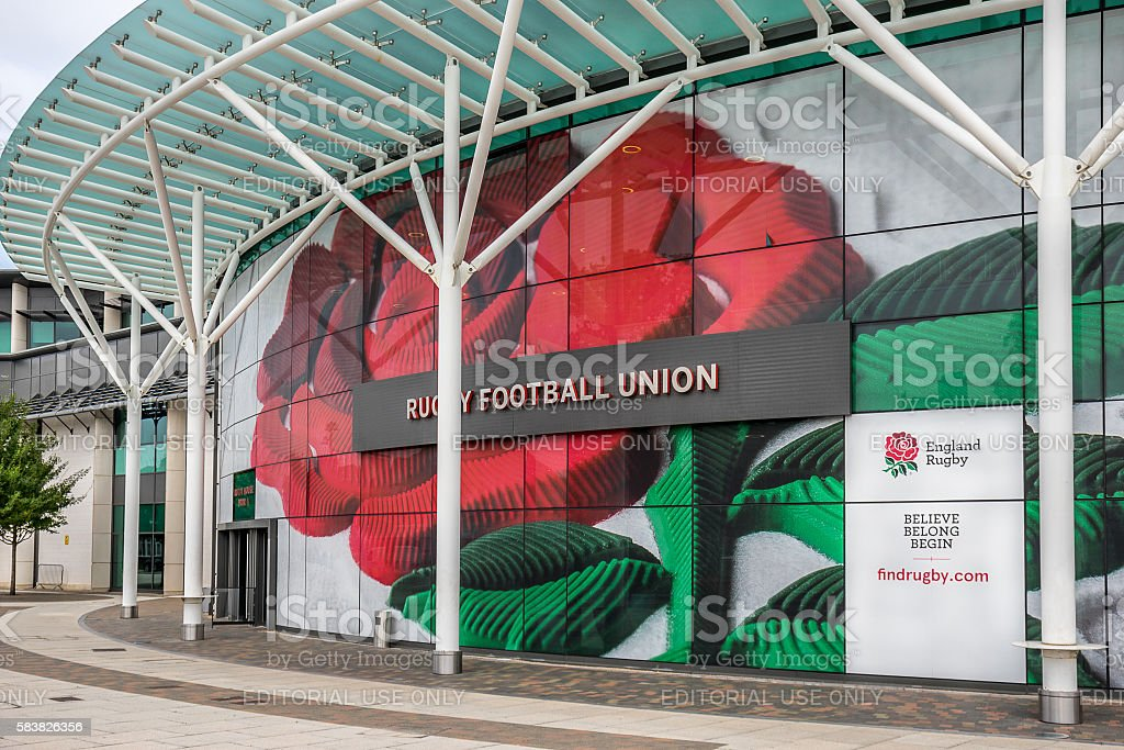 The Rugby Football Union stock photo