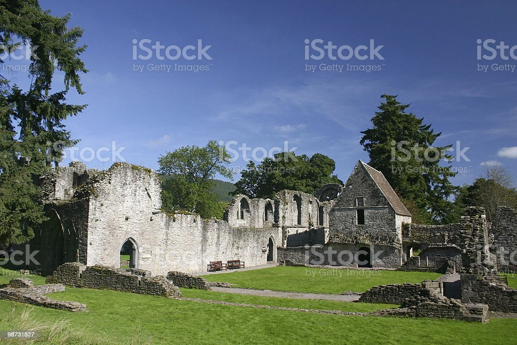 The Ruins of Inchmahome Priory royalty-free stock photo