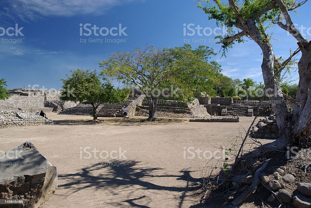 Las Ruinas de la Campana stock photo