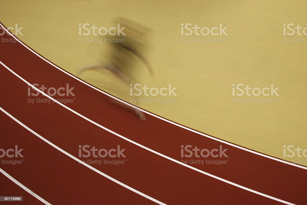 The runner royalty-free stock photo
