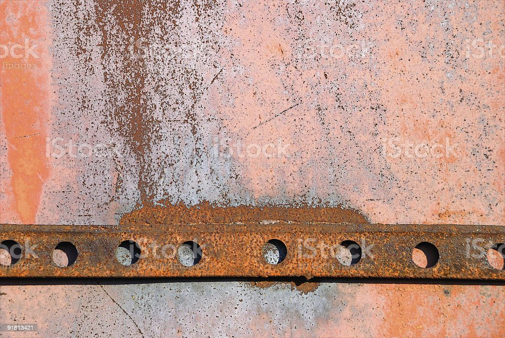 The rusty background from iron royalty-free stock photo