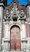 The Sagrario chapel of the Metropolitan Cathedral in Mexico City