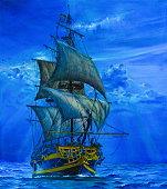 The Sailing Ship.