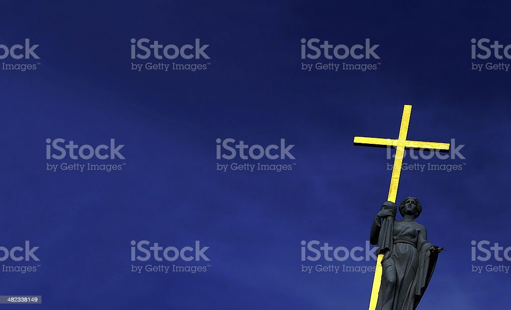 The Saint stock photo