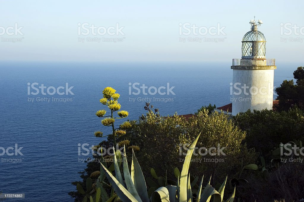 The Saint Sebastian Lighthouse #2 royalty-free stock photo