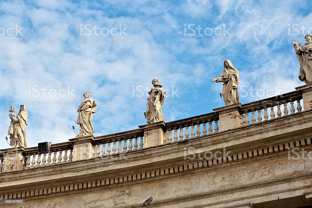 The Saints royalty-free stock photo