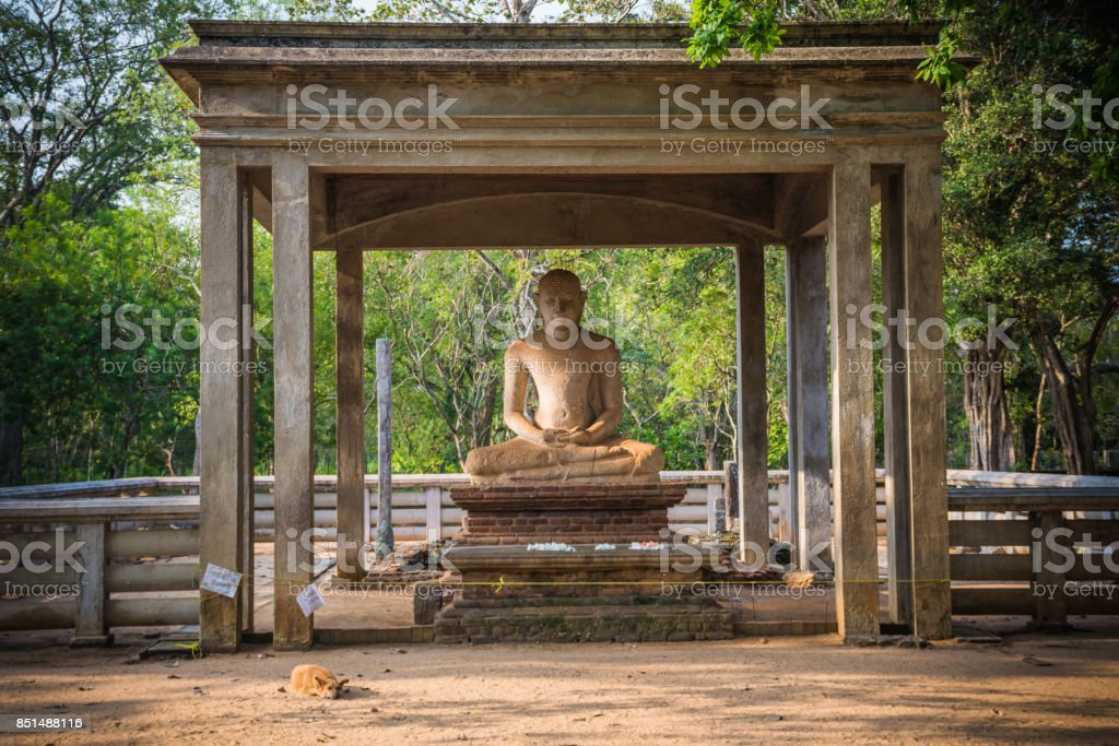 The Samadhi Statue, Sri Lanka, Asia stock photo