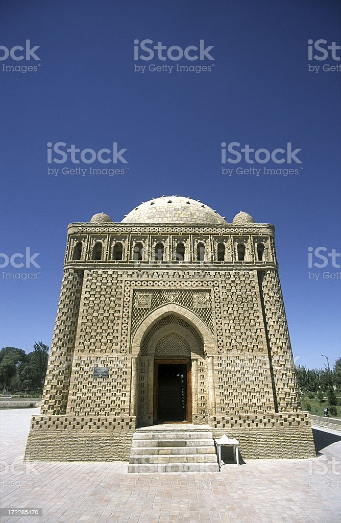 The Samanid Mausoleum stock photo