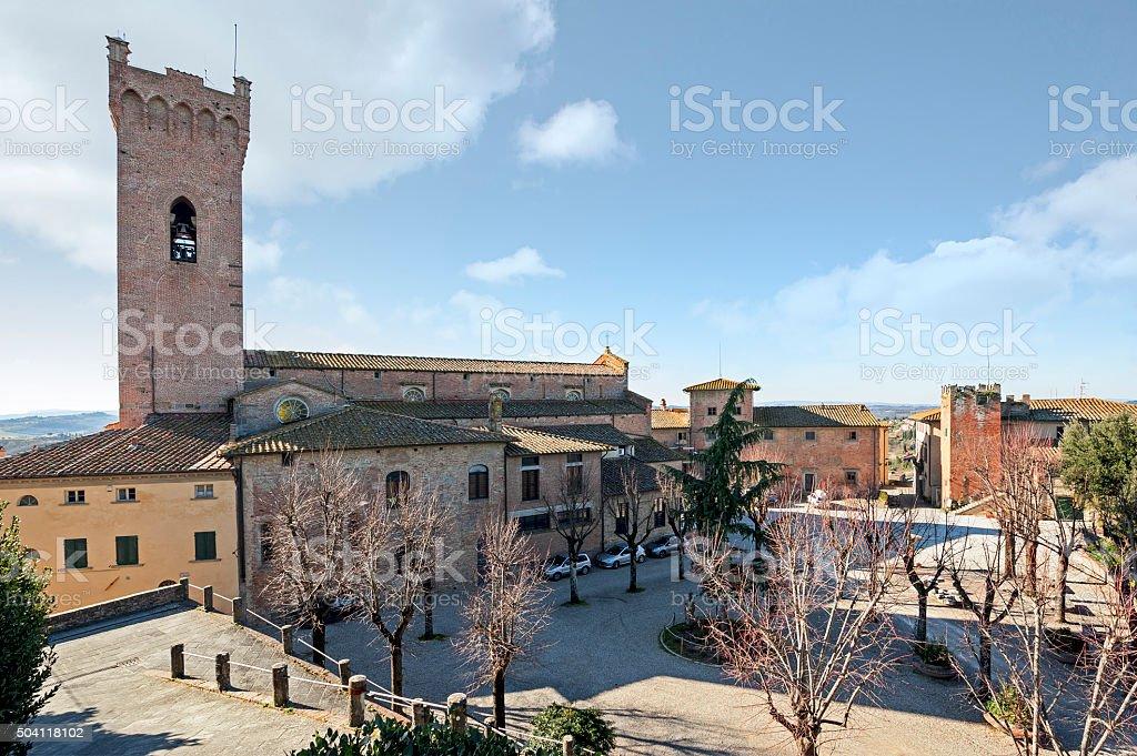the San Miniato's Cathedral stock photo