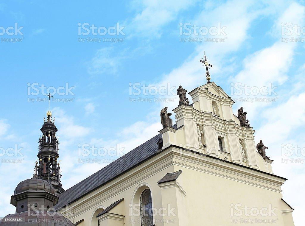 The Sanctuary of Jasna Gora in Czestochowa, Poland royalty-free stock photo