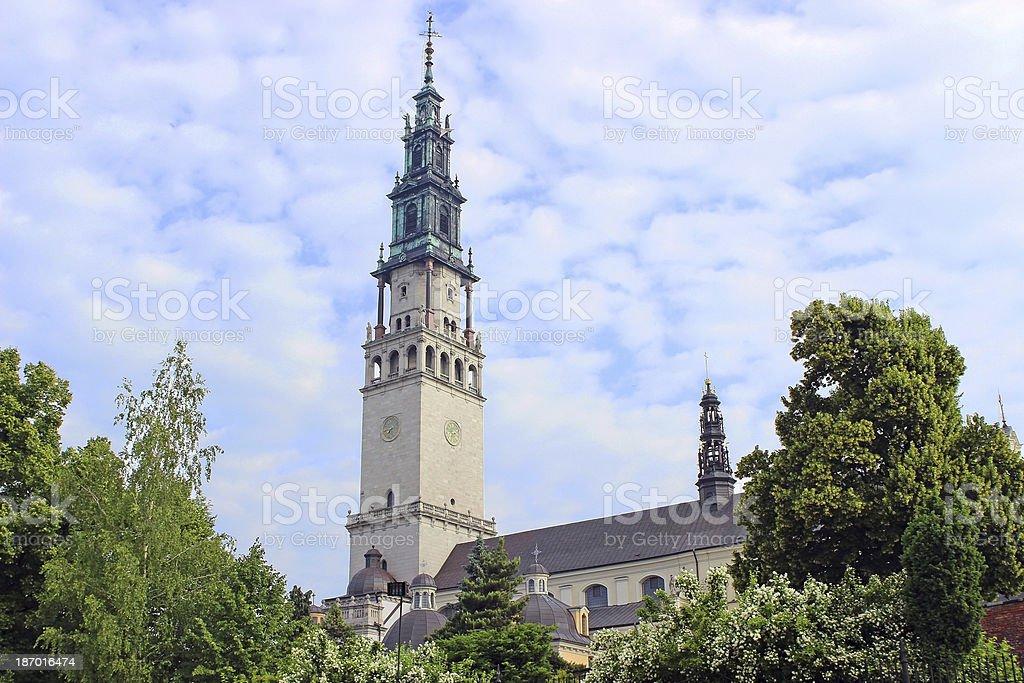 The sanctuary of Jasna Gora in Czestochowa, Poland stock photo