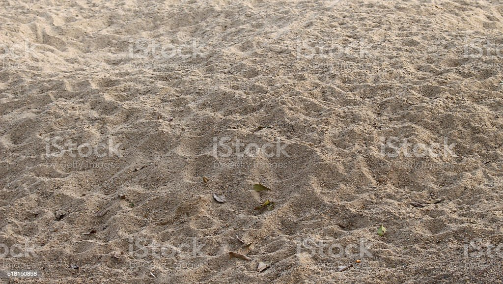 The sand for construction stock photo