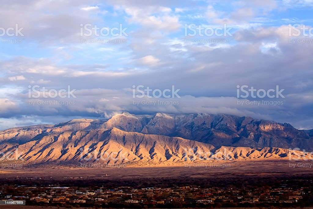 The Sandia's stock photo