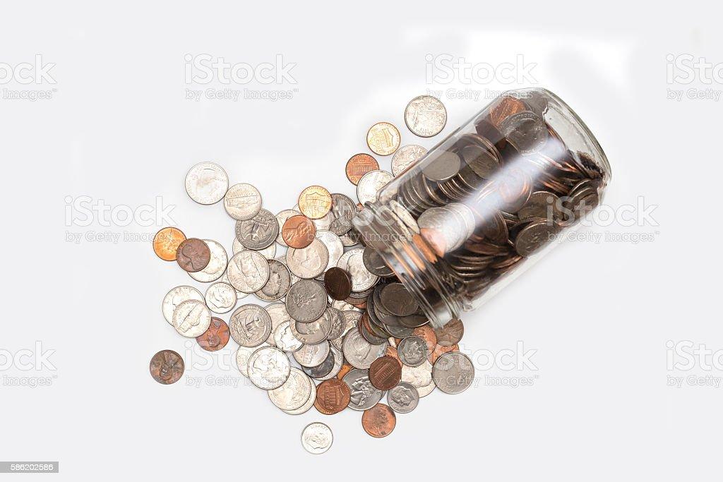 The Savings Felt stock photo