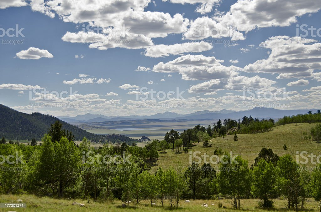 The Sawatch Mountains royalty-free stock photo
