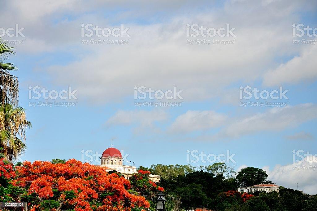 the scenery of Gulangyu island stock photo