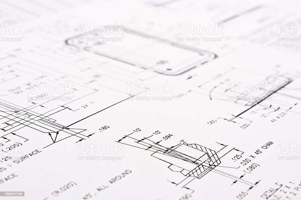 The schematic stock photo