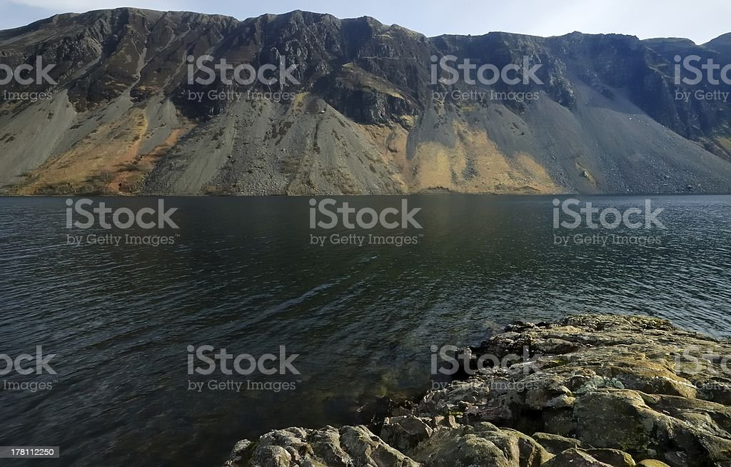 The Screes royalty-free stock photo