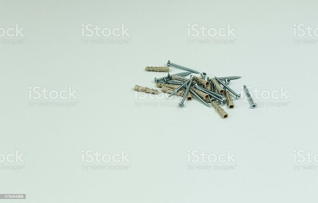 The screws royalty-free stock photo
