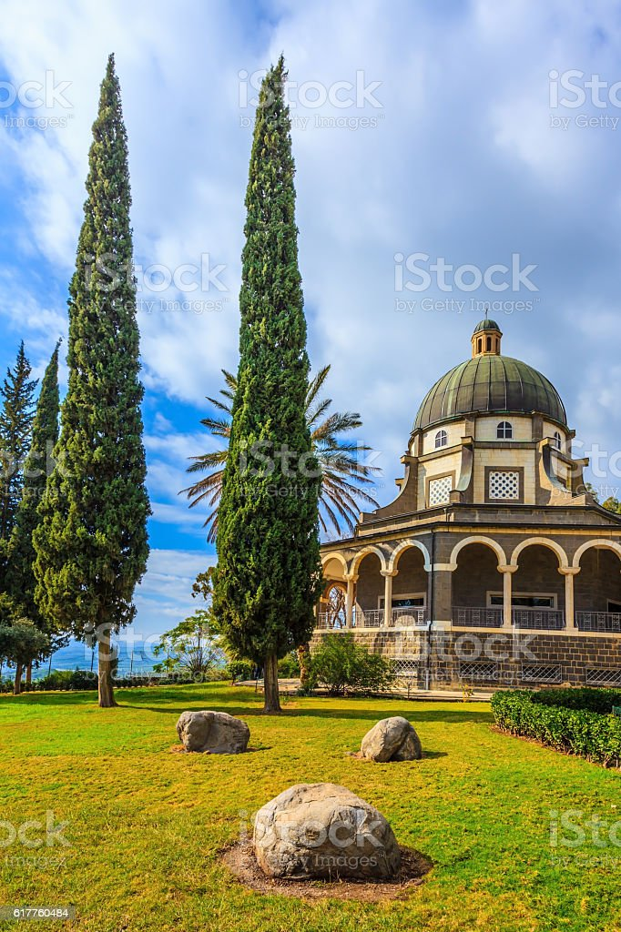 The  Sea of Galilee stock photo
