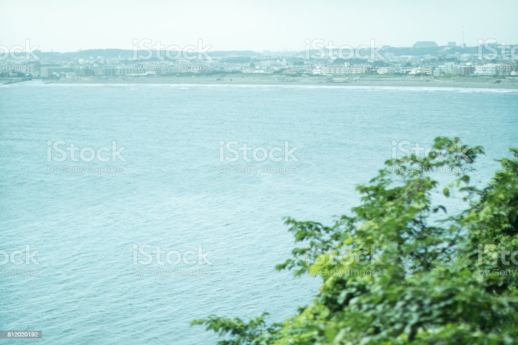 The sea of Japan. stock photo