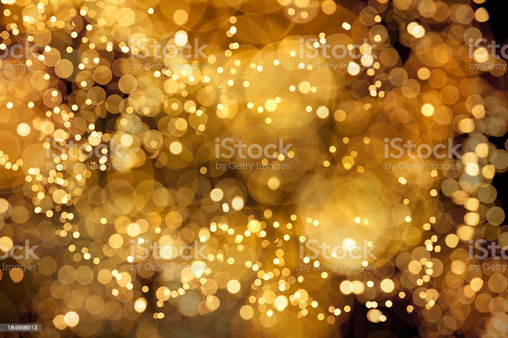 the sea of lights stock photo