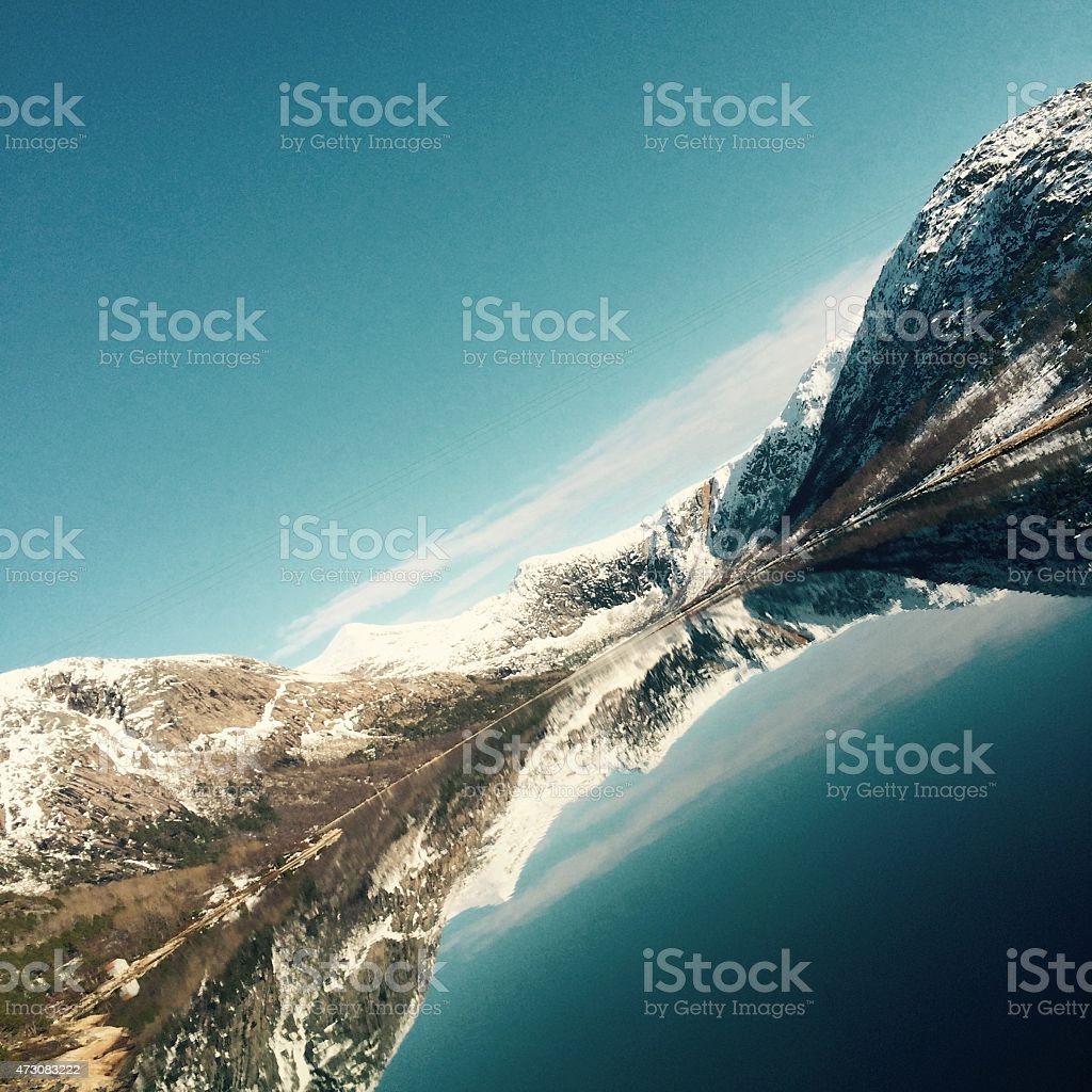 The sea of Norway royalty-free stock photo