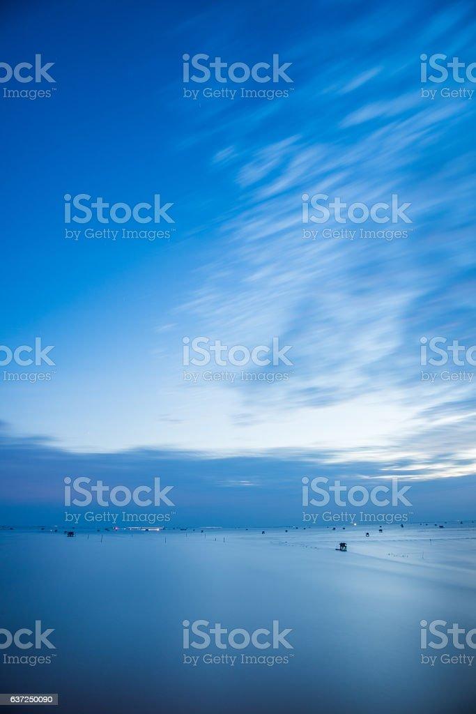 The sea. stock photo
