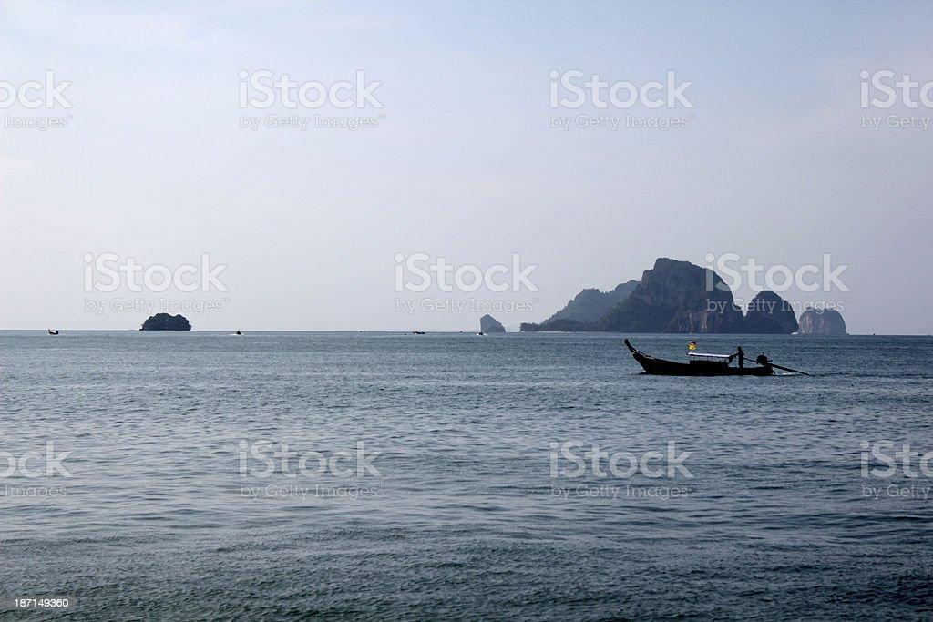 The sea Thailand royalty-free stock photo