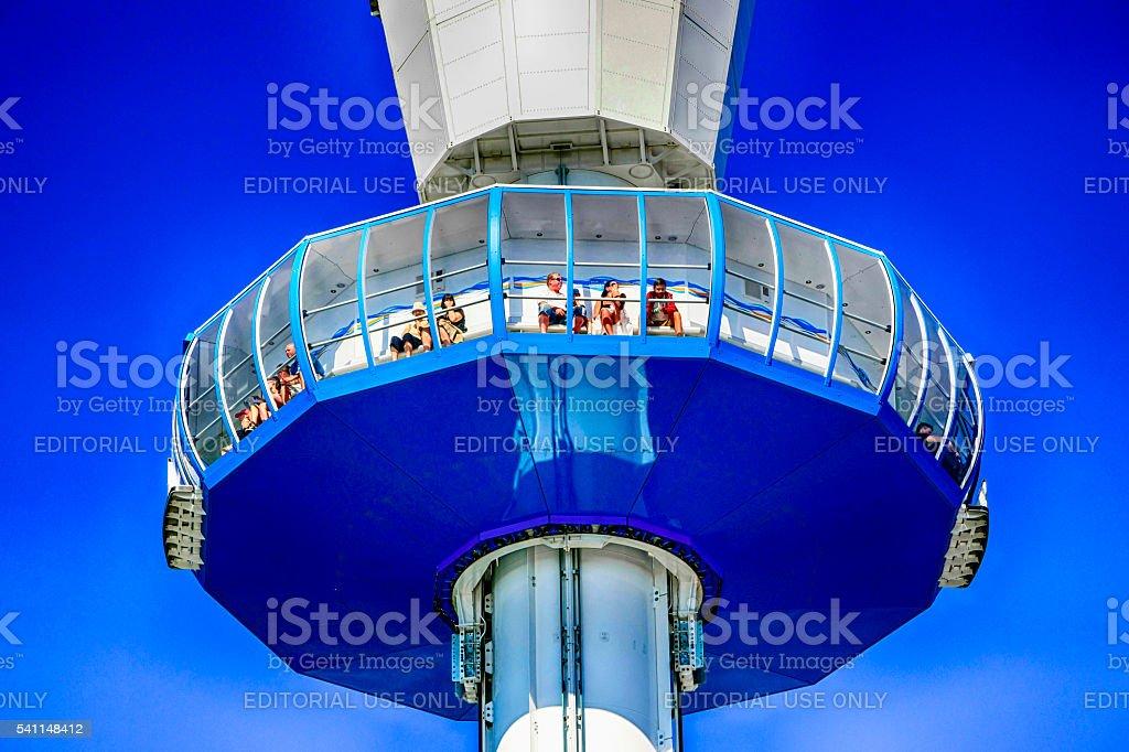 The Sealife 360 Viewing Tower at Weymouth, UK stock photo