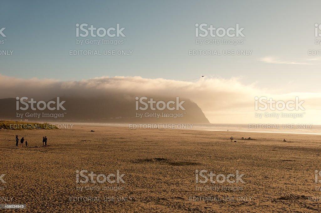 The Seaside Beach stock photo