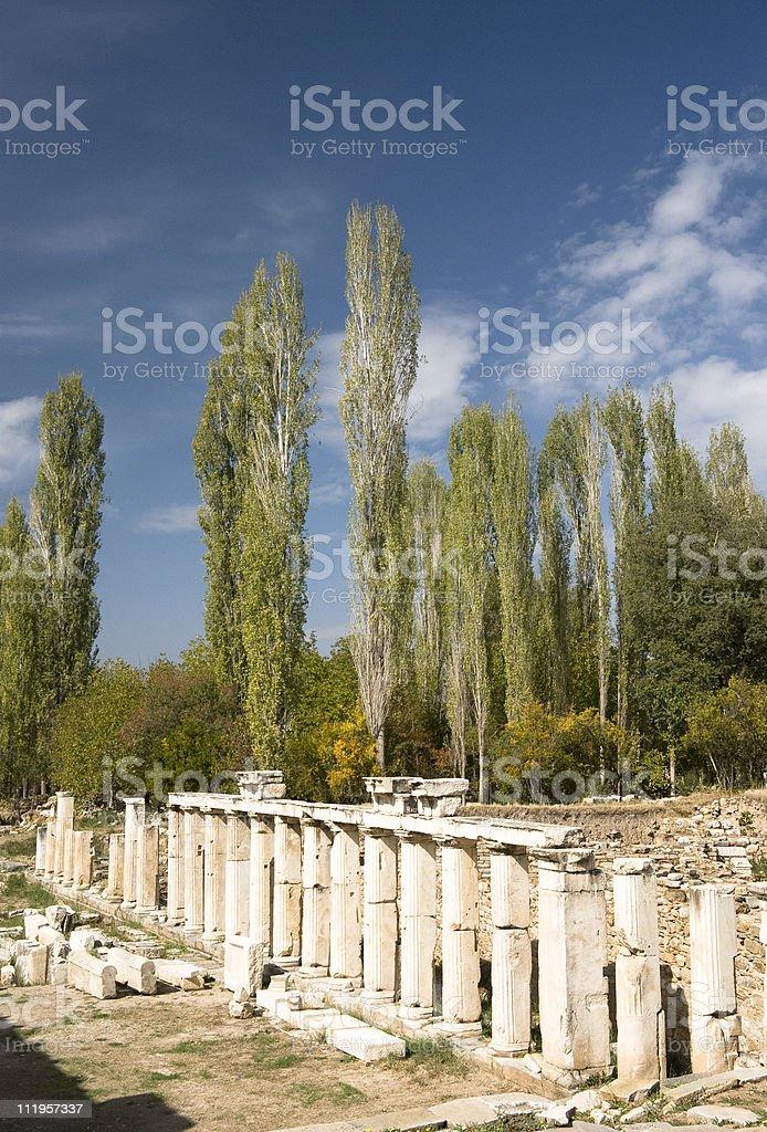 The Sebasteion at Aphrodisias royalty-free stock photo