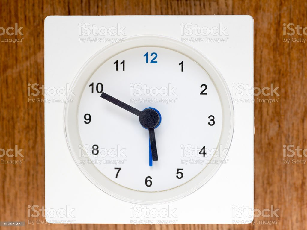 The second series of the sequence of time, 46/96 stock photo