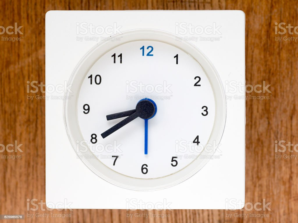The second series of the sequence of time, 70/96 stock photo