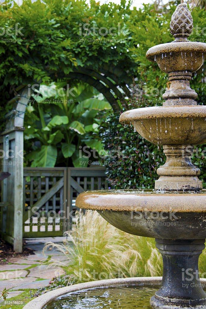 The Secret garden stock photo