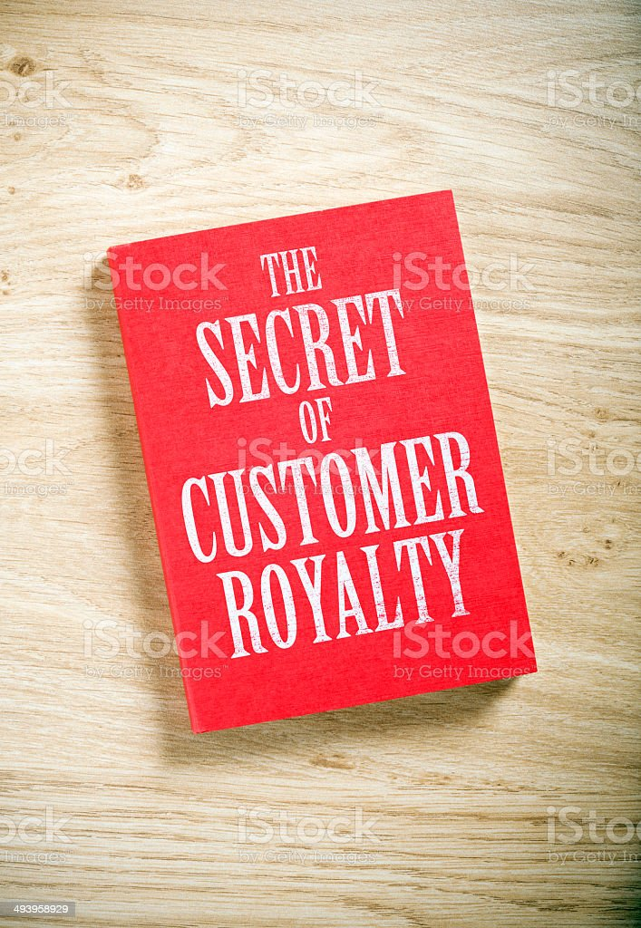 the secret of customer royalty stock photo