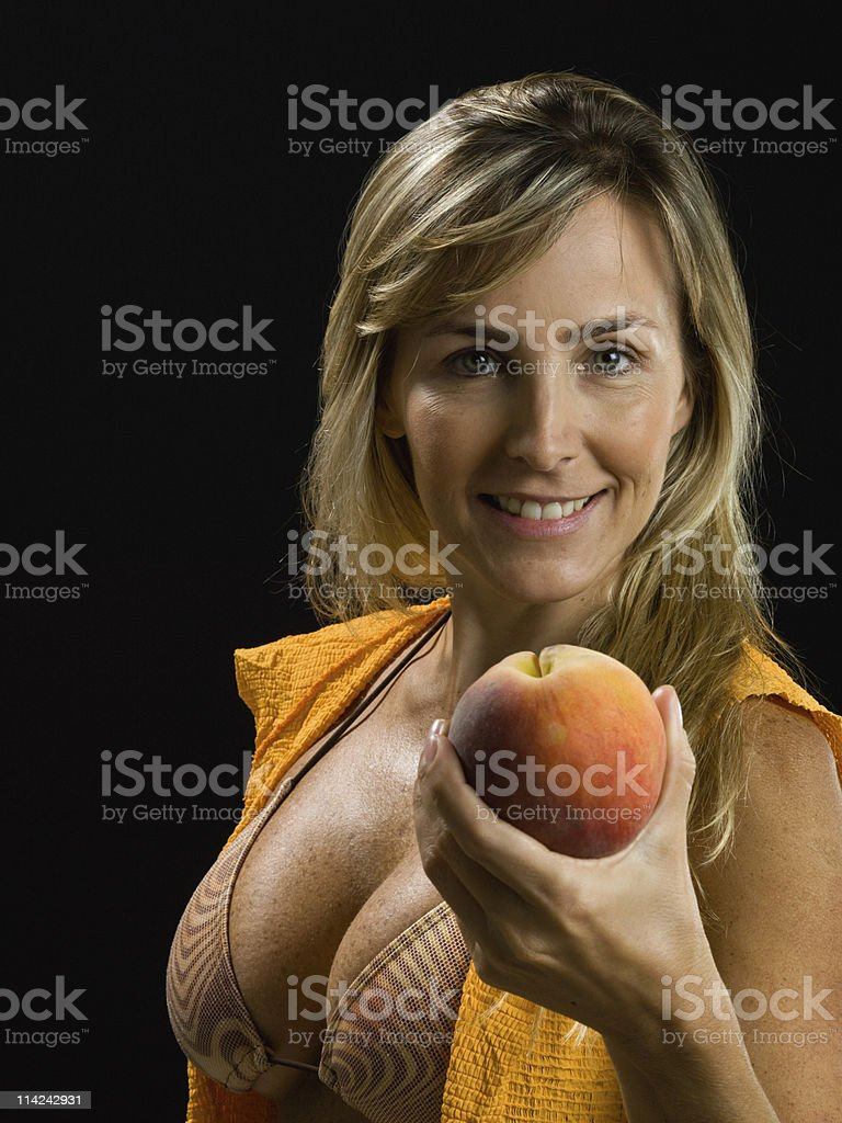 The secret of youth stock photo