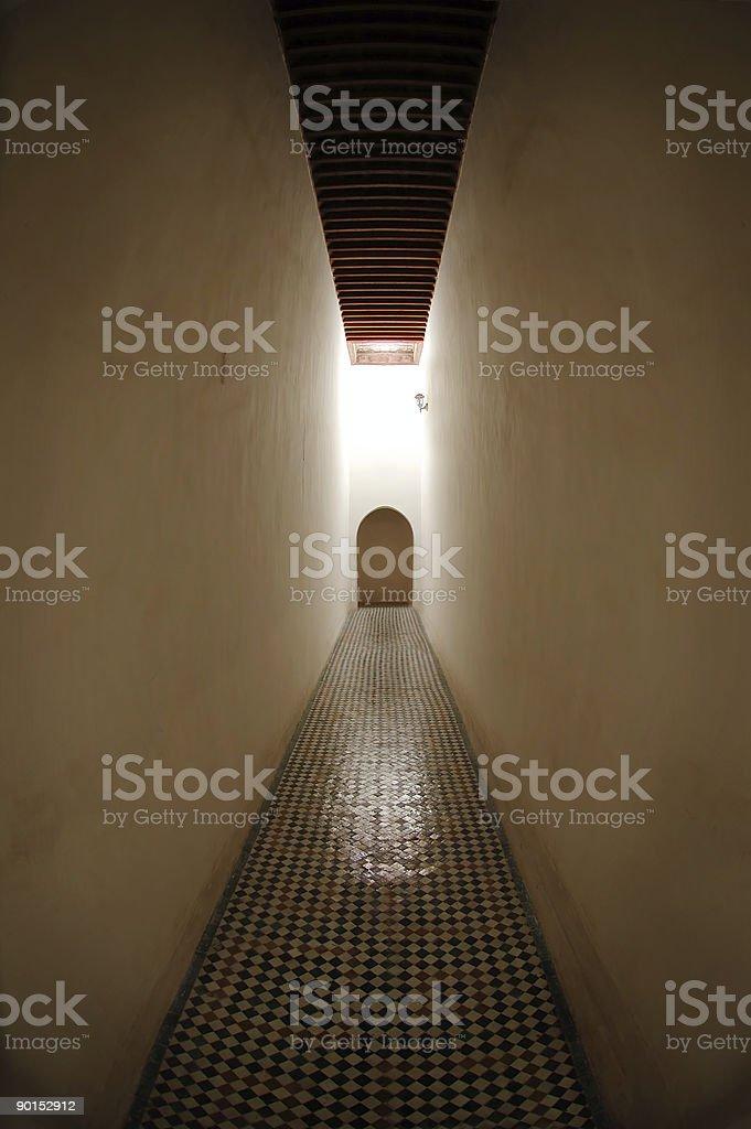 The secret passage royalty-free stock photo