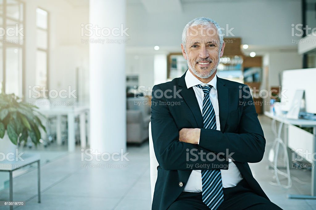 The secret to success lies in great leadership stock photo