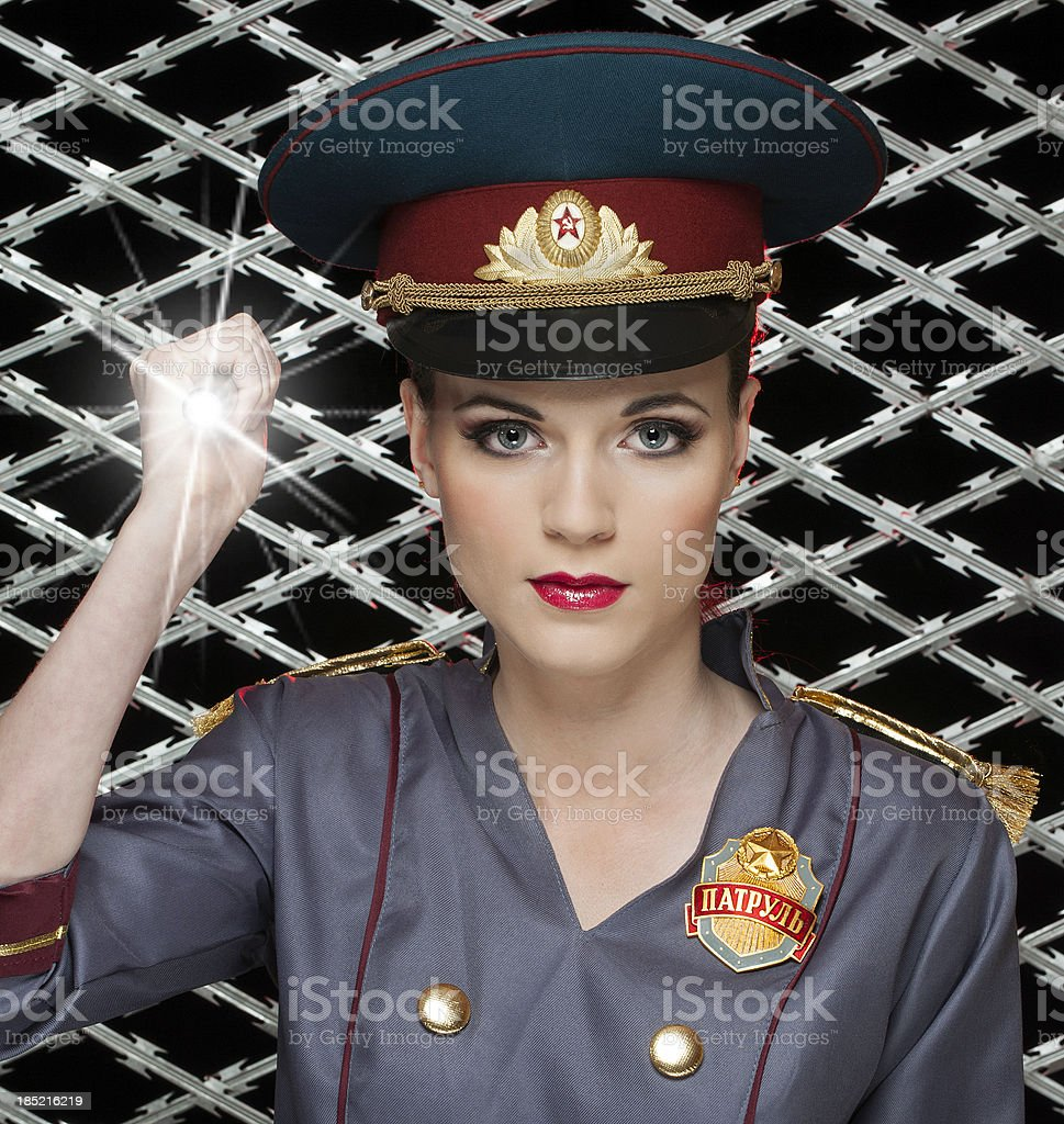 The Security Guard royalty-free stock photo