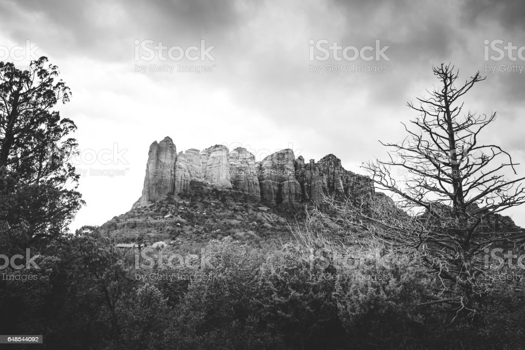 The Sedona Desert stock photo