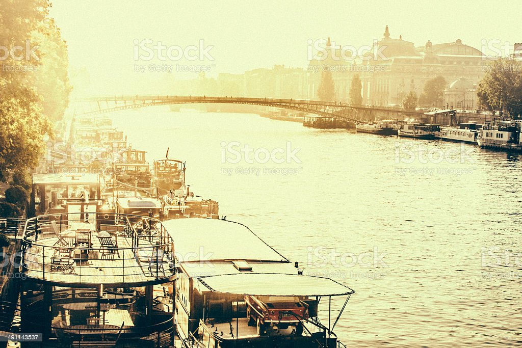 La Seine stock photo