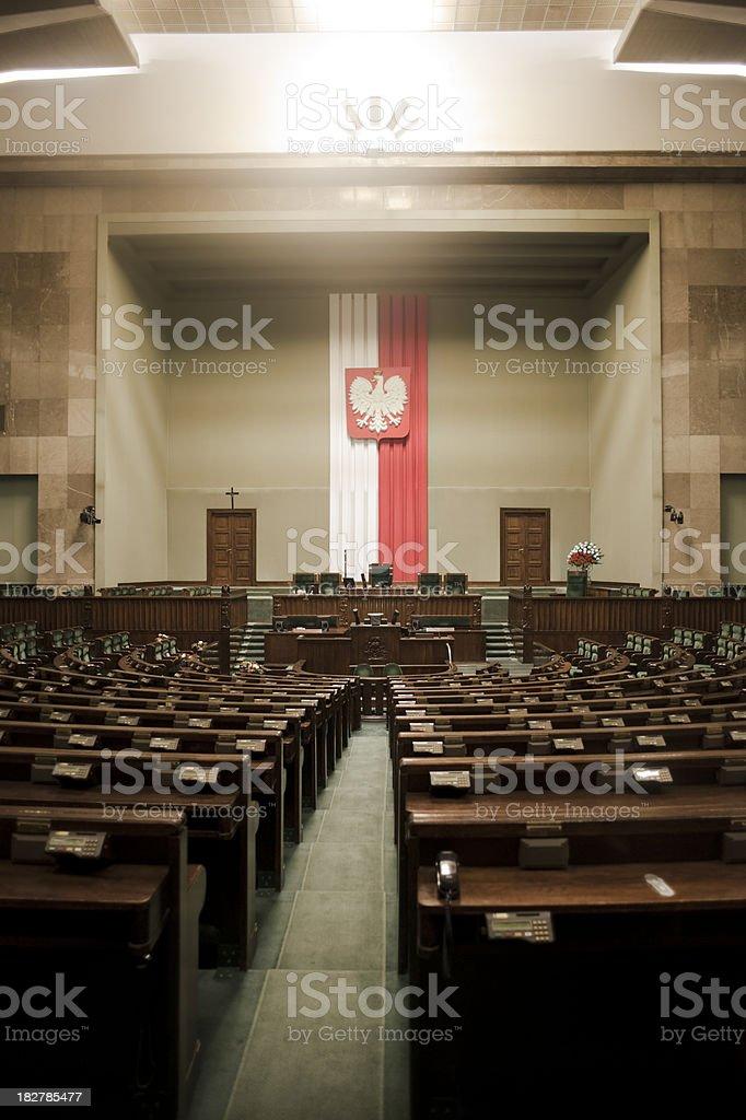 The Sejm - Polish Parliament stock photo