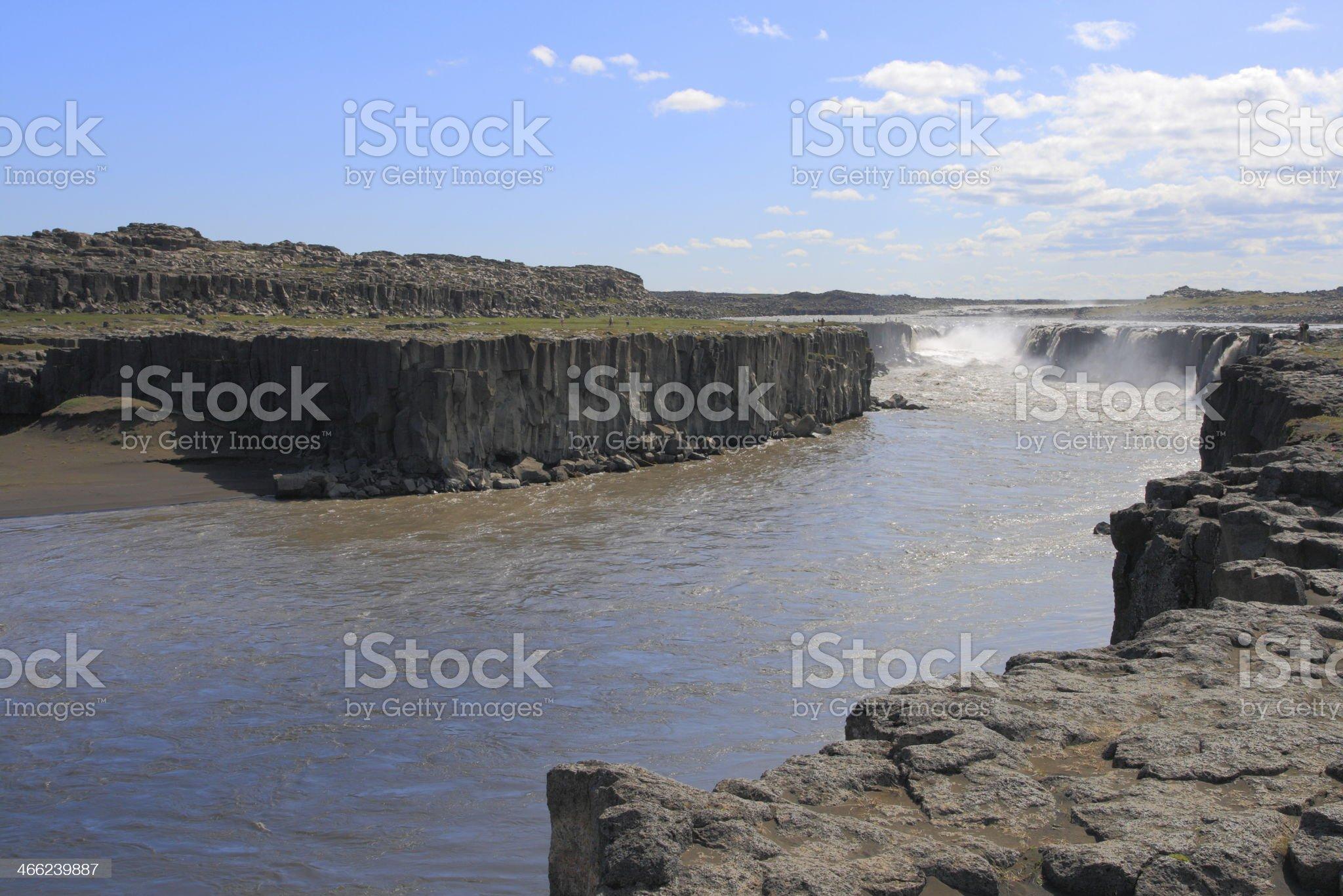 The Selfoss royalty-free stock photo
