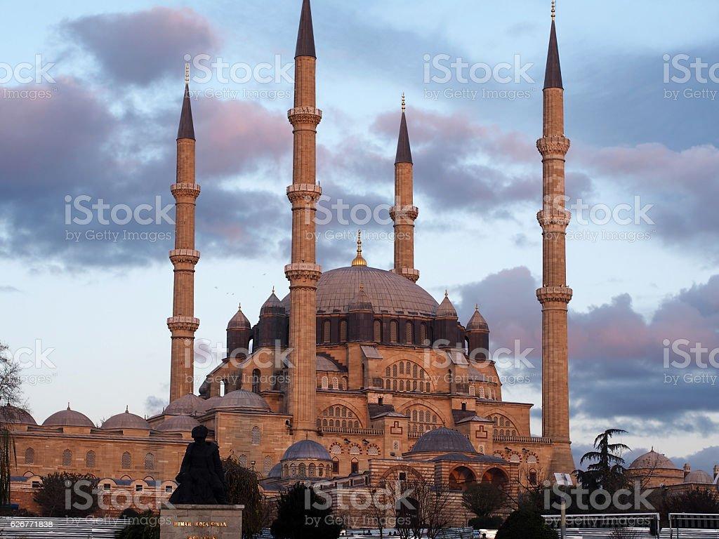 The Selimiye Mosque stock photo