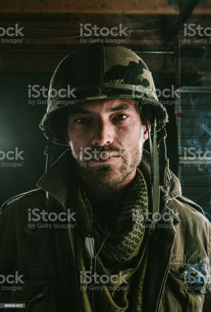 The sergeant stock photo
